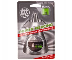Пули RWS Power Piercing 4,5 мм, 0,58 грамм, 200 штук