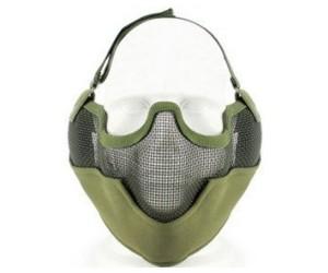 Маска сетчатая на нижнюю часть лица Tactical V2 Green