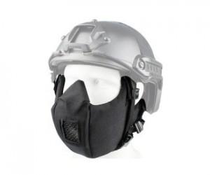 Маска защитная на нижнюю часть лица Tactical V5 Black
