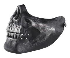 Маска защитная на нижнюю часть лица Skeleton Black