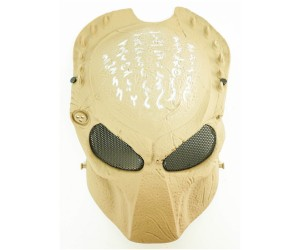 Маска защитная полнолицевая Predator Tan