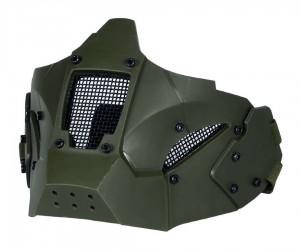 Маска на нижнюю часть лица для крепления к шлемам Fast Tactical Warrior Green