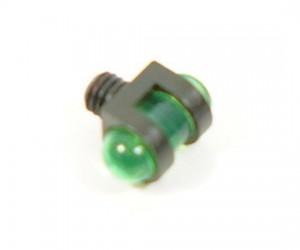 Оптоволоконная мушка зеленая с резьбой 3,0 мм