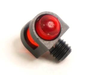 Оптоволоконная мушка красная с резьбой 3,0 мм