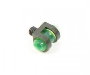 Оптоволоконная мушка зеленая с резьбой 2,6 мм