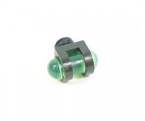 Оптоволоконная мушка зеленая с резьбой 3,5 мм