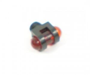 Оптоволоконная мушка красная с резьбой 3,5 мм