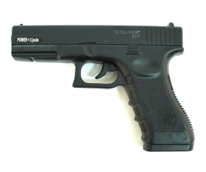 Пневматический пистолет Stalker S17 (Glock 17) пластик