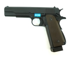 Страйкбольный пистолет WE Colt M1911A1 CO₂, 2 магазина (WE-E005A-2)