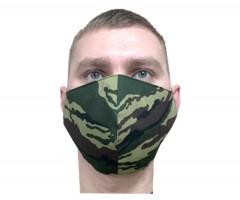 Защитная маска многоразовая 2-слойная NS Camo (10 шт.)