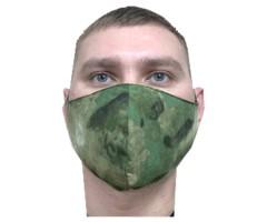 Защитная маска многоразовая 2-слойная NS Smoke Green (10 шт.)