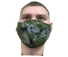 Защитная маска многоразовая 2-слойная NS Green Camo (10 шт.)