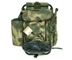 Рюкзак AVI-Outdoor Fiskare Green Camo с раскладным стулом (1068)