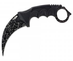 Нож керамбит «Ножемир» HCS-4 (из игры CS:GO) черная патина