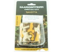 Камуфляжный скотч Savotta Elastic Bandage Desert Camo 5x450 см
