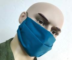 Защитная маска многоразовая 2-слойная MVB Dark Blue (10 шт.)
