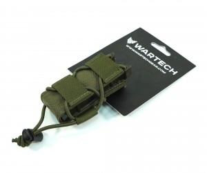 Подсумок Wartech MP-118 под пистолетный магазин (олива)