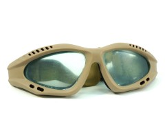 Очки защитные, поликарбонатные линзы GG0011 Tan