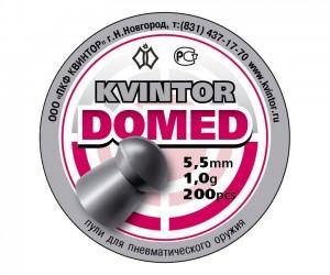 Пули Kvintor Domed 5,5 мм, 1,0 г (200 штук)