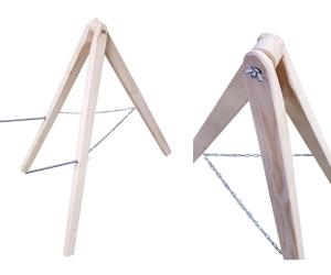 Тренога-подставка для щита 1,5 метра (дерево)