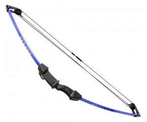 Детский блочный лук Centershot «Корсар» 5,5 кг, 88 см (синий)