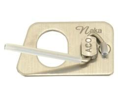 Полочка для классического лука магнитная Decut Naka Silver