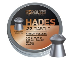 Пули JSB Hades Diabolo 5,5 мм, 1,03 грамм, 500 штук