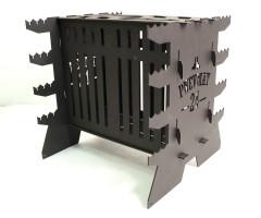 Мангал вертикальный Pnevmat24 Maxi + сумка (сталь 3 мм)