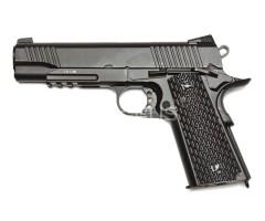 Страйкбольный пистолет KWC Colt M1911 A1 Tactical CO₂ GBB (KCB-77AHN)