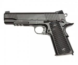 Страйкбольный пистолет KWC Colt M1911 A1 Tactical CO₂ GBB