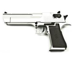 Страйкбольный пистолет KWC Desert Eagle CO₂ GBB Chrome (KCB-51ACIH)