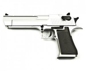 Страйкбольный пистолет KWC Desert Eagle CO₂ GBB Chrome