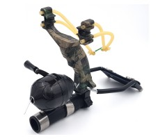 Рогатка Centershot с комплектом для боуфишинга (камуфляж)