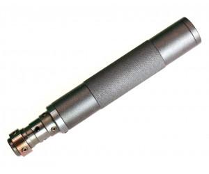 Саундмодератор цельный СУЦП Т34 для винтовок Hatsan 70, 90, 125, Diana (цанг. 16 мм)