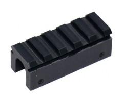 Планка Weaver для установки на ствол Crosman 1377 (55 мм)