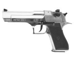Охолощенный СХП пистолет Retay Eagle X (Desert Eagle) 9mm P.A.K, никель