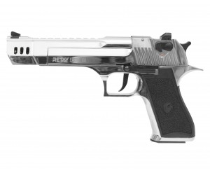 Охолощенный СХП пистолет Retay Eagle XU (Desert Eagle, длинный) 9mm P.A.K, никель