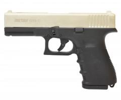 Охолощенный СХП пистолет Retay G19C (Glock) 9mm P.A.K, сатин