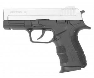 Охолощенный СХП пистолет Retay X1 (Springfield XD) 9mm P.A.K, никель