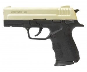 Охолощенный СХП пистолет Retay X1 (Springfield XD) 9mm P.A.K, сатин