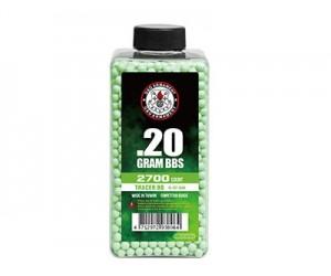 Шары трассерные G&G Tracer 0,20 г, 2700 штук (зеленые, бутылка) G-07-264