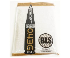 Шары для страйкбола BLS 0,43 г, 2300 штук (1 кг, слоновая кость) 1KG-H43I