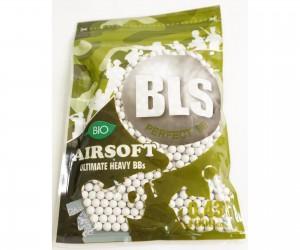 Шары для страйкбола BLS 0,43 г, 1000 штук (белые, Bio) 1BA-PLA43