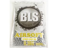 Шары BLS Precision Grade 0,38 г, 1000 штук (серые) 1BA-ST38