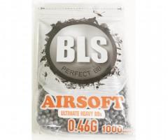 Шары BLS Precision Grade 0,46 г, 1000 штук (серые) 1BA-ST46