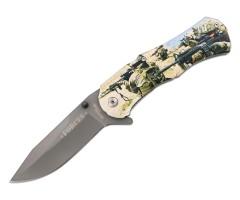 Нож автоматический Ножемир «Чёткий Расклад» A-170 Forces