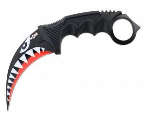 Нож керамбит «Ножемир» HCS-9 (из игры CS:GO) акулий оскал