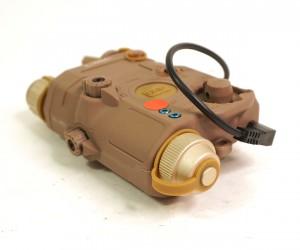 Тактический блок (фонарь с ЛЦУ) FMA PEQ/LA5-C Upgrade Version DE