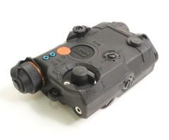 Тактический блок (фонарь с ЛЦУ) FMA PEQ/LA5-C Upgrade Version BK