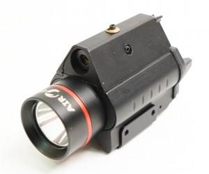 Лазерный целеуказатель c фонарем Target Laser Flashlight 23